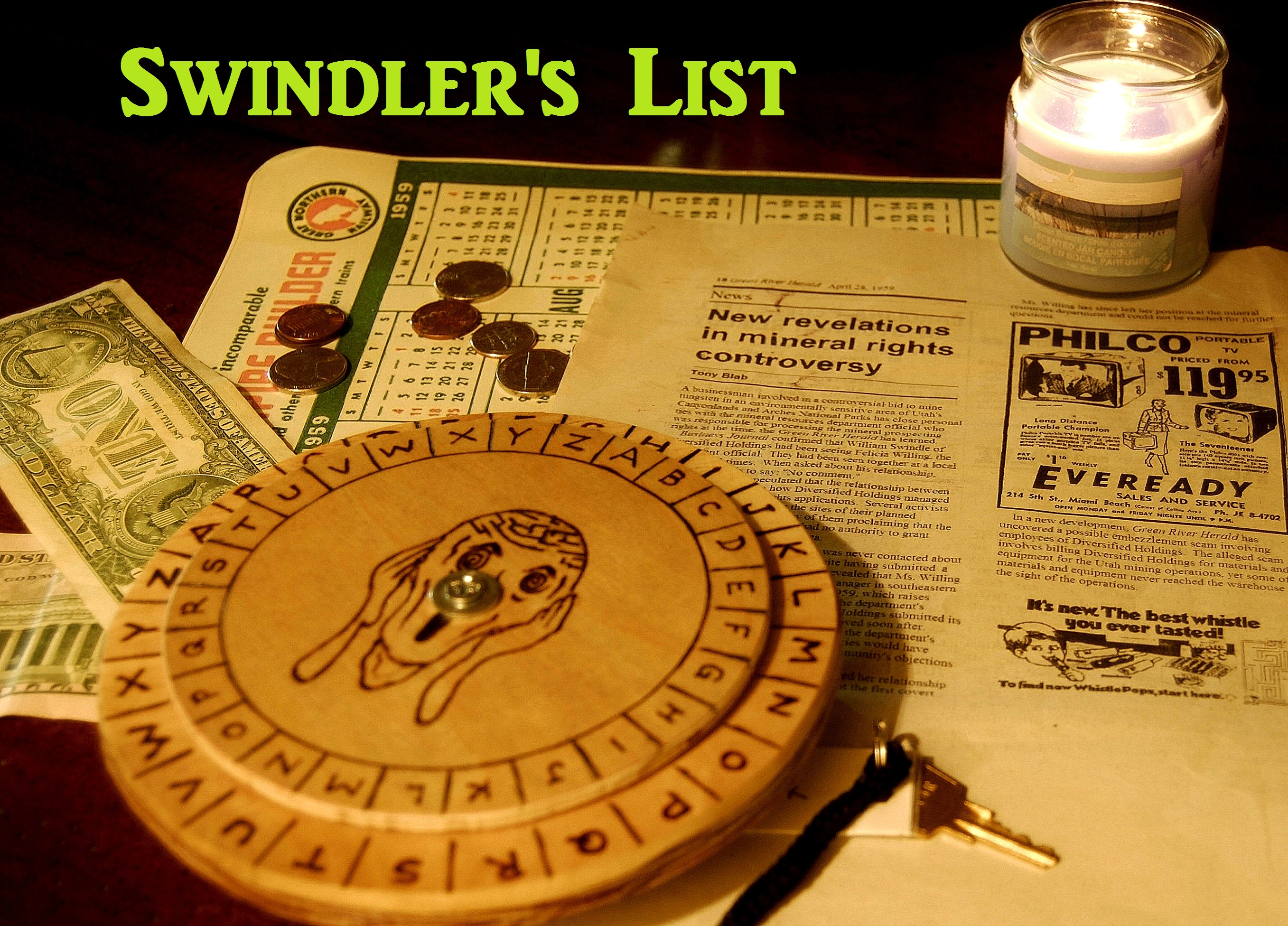 Swindlers List Website Photo with Title